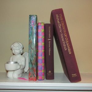Other - Pink Purple book lot for shelf decor